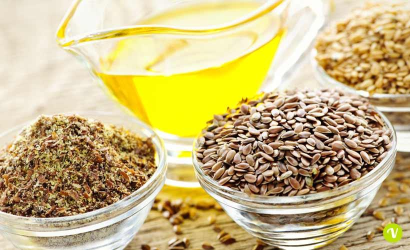 L\'olio di semi di lino per la cura dei capelli ricci crespi ...