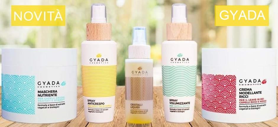 Curare i capelli ricci con i prodotti bio anticrespo Gyada Cosmetics