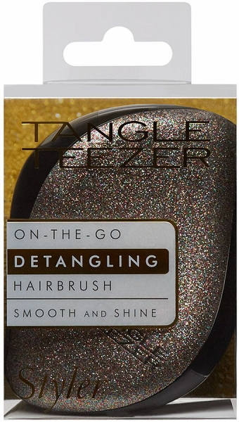 Idea regalo Natale per capelli ricci: Tangle Teezer Compact Styler Glitter Gem