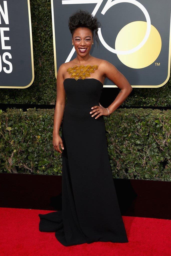 Ricci su per Samira Wiley ai Golden Globe 2018