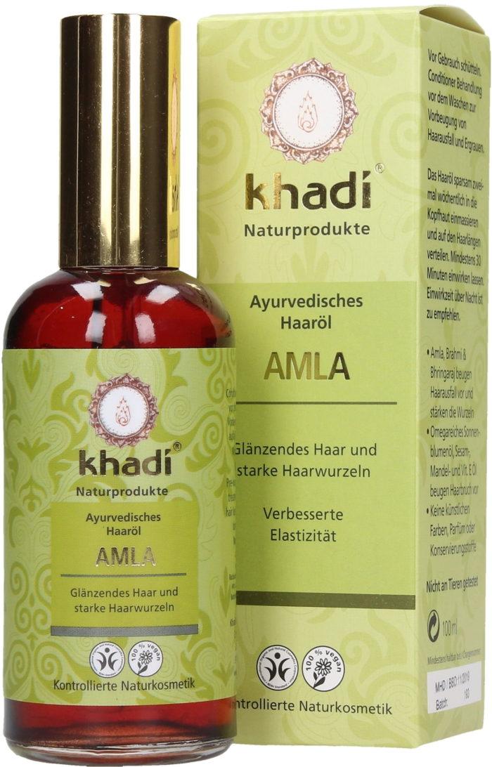 Khadi olio amla per capelli ricci - Ricciomatto
