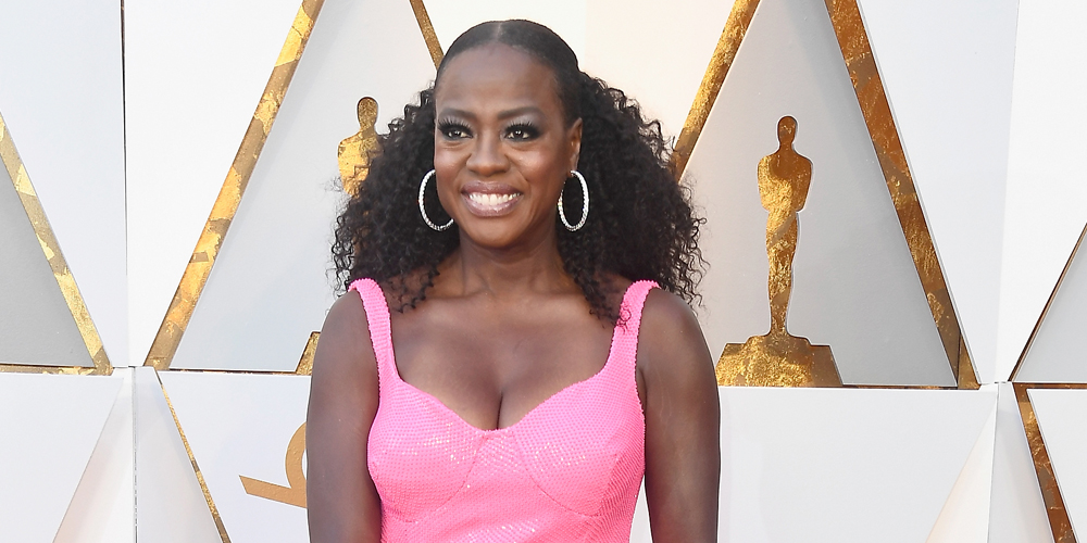 Viola Davis è la pantera rosa dai capelli ricci degli Oscar 2018!