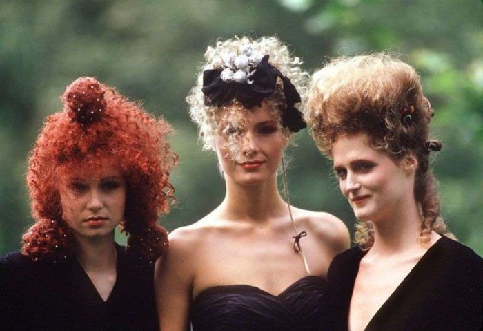 Permanente e capelli ricci anni 80 - Ricciomatto